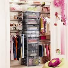Shallow Closet Organizer - small closet organization ideas