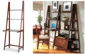 Leaning Ladder Desk by Creative Modern Ladder Desk Design For Small Room Homesfeed