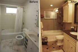 bathroom remodeling ideas before and after contemporary bathroom remodel before and after on intended for