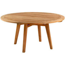 60 In Round Dining Table Kingsley Bate Algarve 60
