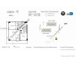 brickell on the river floor plans axis brickell north tower