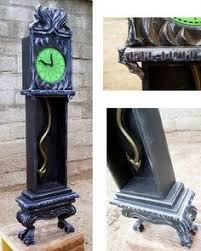 haunted mansion home decor prop showcase haunted mansion 13 hour wall clock halloween decor