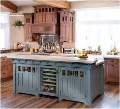 french country kitchen colors rustic blue kitchen cabinet and beige paint color for french