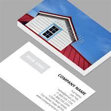 business cards standard horizontal customizable design
