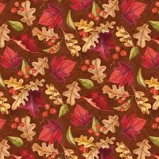 thanksgiving fabric thankful harvest multi tossed leaves cotton