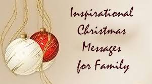 inspirational messages for family merry wishes