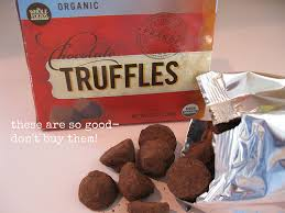 truffle whole foods vanilla sugar blondies with chocolate truffles and cookie
