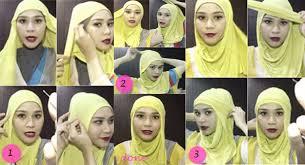 Tutorial Hijab Paris Zaskia | new tutorial hijab headband zaskia adya mecca
