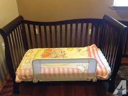 Brookline Convertible Crib Reduced 4 In 1 Chocolate Color Crib Mattress For Sale In