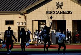 charleston southern football team protests over campus food news