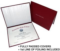 diploma cover maroon diploma cover custom diploma printing