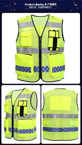 Construction High Visibility Clothing Visibility Night Reflective Safety Clothing Construction Traffic