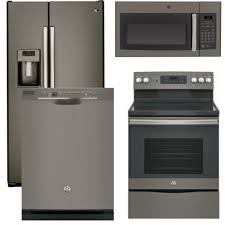Kitchen Appliances Packages - 36 ge appliance 4 piece appliance package with electric range
