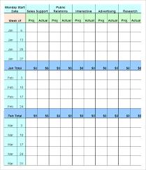 marketing budget template u2013 17 free word excel pdf documents