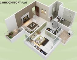 615 sq ft 1 bhk 1t apartment for sale in ghorpade constructions