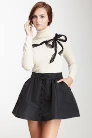 red valentino turtleneck mesh bow sweater love it pinterest