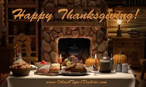 happy thanksgiving from calla at www iamatype1diabetic