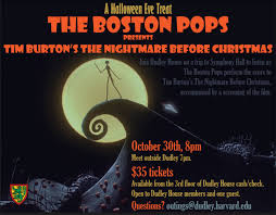 boston pops the nightmare before tickets on sale now