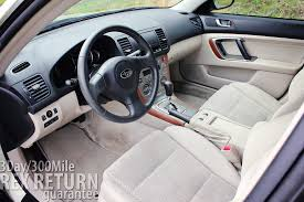 subaru outback interior 2006 subaru legacy outback 77 283 miles carwrex subarus