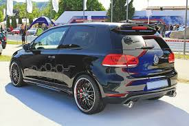 volkswagen golf custom volkswagen golf gti black dynamic look vw gti club