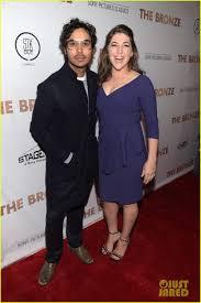 Big Bang Theory Halloween Costumes Sebastian Stan U0026 Melissa Rauch Support U0027big Bang Theory