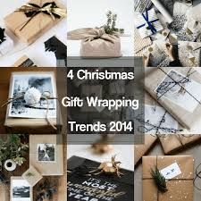 eclectic trends 4 gift wrapping trends for christmas 2014
