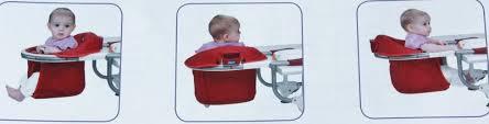 siège de table bébé chaises hautes repas de bébé et sièges de table z autour de bebe