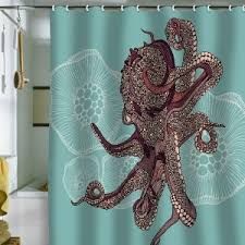 Unique Fabric Shower Curtains The Unique Shower Curtains In Your Bathroom Home And Textiles