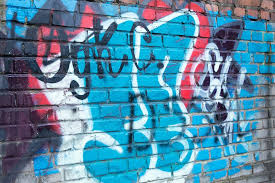 abstract wall free photo abstract wall graffiti blue figure max