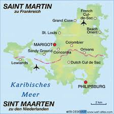 map of st martin map of martin map in the atlas of the