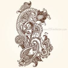 paisley designs free by 123freevectors on deviantart