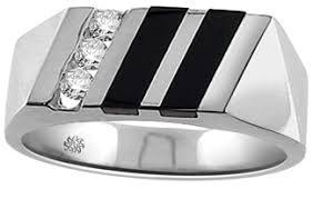 onyx wedding band 18 carat diamond black onyx wedding band