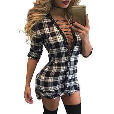Scotch Plaid Online Get Cheap Tartan Bandage Dress Aliexpress Com Alibaba Group