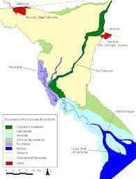 Colorado River Map by Bird Conservation Plan For The Colorado River Delta Pdf Download