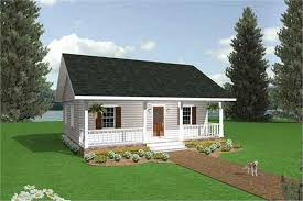 Small Cottage Plan Country House Plan 2 Bedrms 1 Baths 864 Sq Ft 123 1050