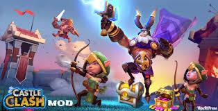 game castle clash mod apk castle clash mod 1 4 22 apk unlimited gems money for free