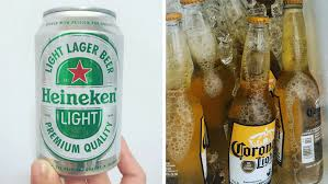 does light beer have less alcohol i ranked the 10 best light beers to separate the good from the garbage
