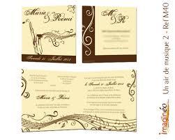 faire part mariage musique faire part mariage musique un air de musique ivoire et chocolat