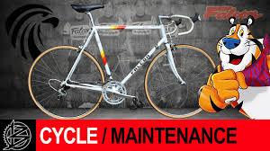 peugeot bike vintage vintage falcon road bike restoration youtube