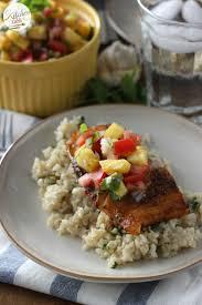 blackened cod with fresh pineapple salsa a kitchen addiction