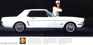 ford mustang ad 1964 ford mustang advertisement car autos gallery