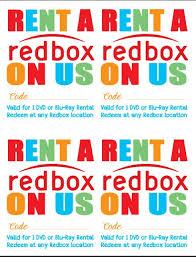 random happy gift a redbox printables