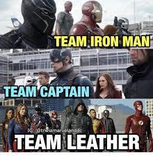 Iron Man Meme - 25 best memes about team iron man or team captain america