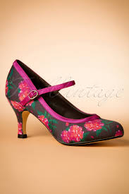 Pumps 50s Mary Jane Camelias Pumps In Black