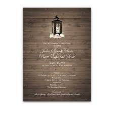 wedding program order rustic wedding programs order of service lantern theme