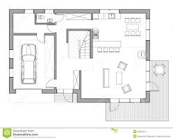 drawing single family house stock illustration image 49918114