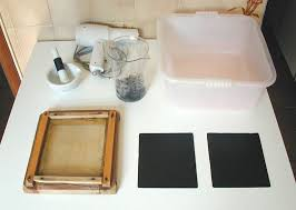 making paper at home
