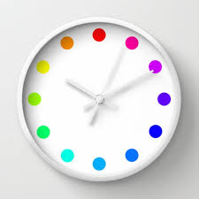 clock designs colorful primitive folk art wall clock wall clocks chicago