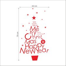 merry christmas wall stickers home decorations santa claus vinyl aeproduct getsubject
