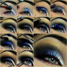 tutorial or you can use purple to bring out the blue in your eyes is a 20 amazing makeup